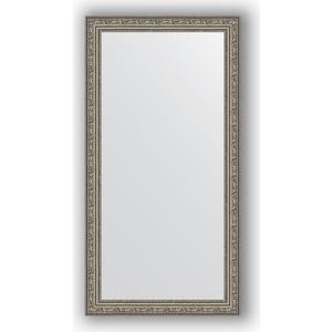 Зеркало в багетной раме поворотное Evoform Definite 54x104 см, виньетка состаренное серебро 56 мм (BY 3072) зеркало в багетной раме поворотное evoform definite 74x134 см виньетка состаренное золото 56 мм by 3295