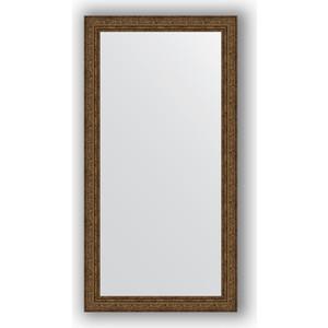 Зеркало в багетной раме поворотное Evoform Definite 54x104 см, виньетка состаренная бронза 56 мм (BY 3073) нарды кожаные бронза большие в дипломате rakbro60d