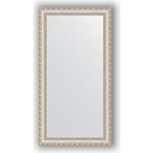 Зеркало в багетной раме поворотное Evoform Definite 55x105 см, версаль серебро 64 мм (BY 3078) evoform definite 55x145 см версаль серебро 64 мм by 3110