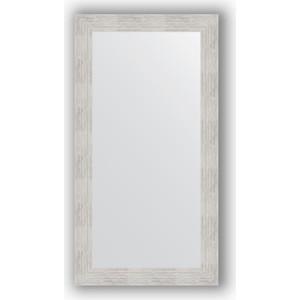 Зеркало в багетной раме поворотное Evoform Definite 56x106 см, серебреный дождь 70 мм (BY 3080) зеркало в багетной раме evoform definite 76x76 см серебреный дождь 70 мм by 3240