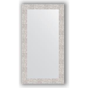 Зеркало в багетной раме поворотное Evoform Definite 56x106 см, соты алюминий 70 мм (BY 3083) зеркало в багетной раме поворотное evoform definite 56x76 см соты алюминий 70 мм by 3051