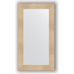 Зеркало в багетной раме поворотное Evoform Definite 60x110 см, золотые дюны 90 мм (BY 3085)