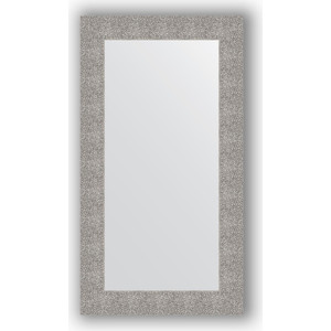 Зеркало в багетной раме поворотное Evoform Definite 60x110 см, чеканка серебряная 90 мм (BY 3087) зеркало evoform by 3195
