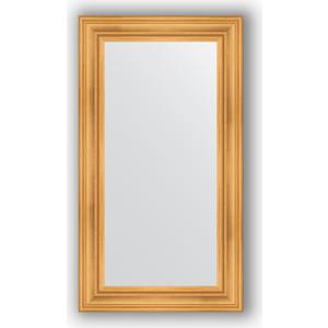 Зеркало в багетной раме Evoform Definite 62x112 см, травленое золото 99 мм (BY 3091) evoform definite 82x162 см травленое золото 99 мм by 3347