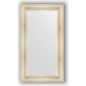 Зеркало в багетной раме поворотное Evoform Definite 62x112 см, травленое серебро 99 мм (BY 3092) зеркало в багетной раме поворотное evoform definite 74x154 см травленое серебро 59 мм by 0769