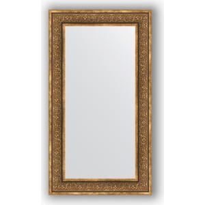 Зеркало в багетной раме поворотное Evoform Definite 63x113 см, вензель бронзовый 101 мм (BY 3095) orange lace up design irregular hem skirt
