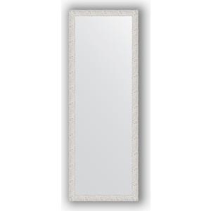 цена на Зеркало в багетной раме поворотное Evoform Definite 51x141 см, чеканка белая 46 мм (BY 3098)