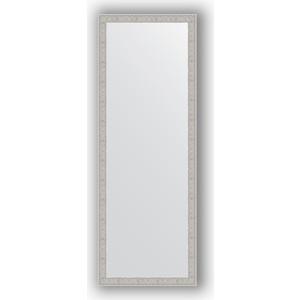 Зеркало в багетной раме поворотное Evoform Definite 51x141 см, волна алюминий 46 мм (BY 3102) зеркало в багетной раме поворотное evoform definite 51x71 см волна алюминий 46 мм by 3038