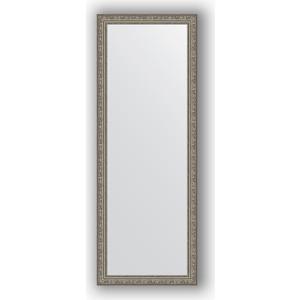 Зеркало в багетной раме поворотное Evoform Definite 54x144 см, виньетка состаренное серебро 56 мм (BY 3104) зеркало в багетной раме поворотное evoform definite 74x134 см виньетка состаренное золото 56 мм by 3295