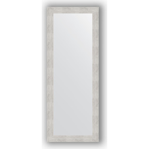 Зеркало в багетной раме поворотное Evoform Definite 56x146 см, серебреный дождь 70 мм (BY 3112) зеркало в багетной раме evoform definite 76x76 см серебреный дождь 70 мм by 3240