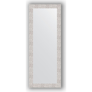 Зеркало в багетной раме поворотное Evoform Definite 56x146 см, соты алюминий 70 мм (BY 3115) зеркало в багетной раме поворотное evoform definite 56x76 см соты алюминий 70 мм by 3051