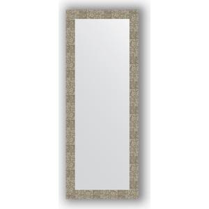 Зеркало в багетной раме поворотное Evoform Definite 56x146 см, соты титан 70 мм (BY 3116) зеркало в багетной раме поворотное evoform definite 56x76 см соты алюминий 70 мм by 3051
