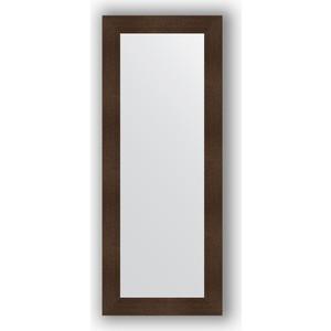 Зеркало в багетной раме поворотное Evoform Definite 60x150 см, бронзовая лава 90 мм (BY 3120)