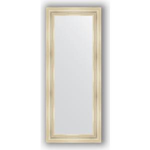 Зеркало в багетной раме поворотное Evoform Definite 62x152 см, травленое серебро 99 мм (BY 3124) зеркало в багетной раме поворотное evoform definite 74x94 см травленое серебро 59 мм by 0684