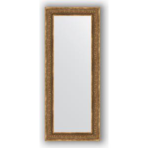 Зеркало в багетной раме поворотное Evoform Definite 63x153 см, вензель бронзовый 101 мм (BY 3127) зеркало в багетной раме поворотное evoform definite 63x83 см вензель бронзовый 101 мм by 3063