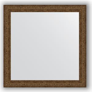 Зеркало в багетной раме Evoform Definite 64x64 см, виньетка состаренная бронза 56 мм (BY 3137) зеркало в багетной раме evoform definite 64x64 см беленый дуб 57 мм by 0781