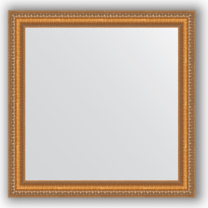 Зеркало в багетной раме Evoform Definite 65x65 см, золотые бусы на бронзе 60 мм (BY 3138) original supply 3138 158 64202 me5p 23 3138 6254 3 used disassemble