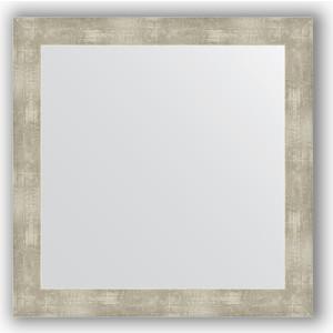 Зеркало в багетной раме Evoform Definite 64x64 см, алюминий 61 мм (BY 3140) зеркало в багетной раме evoform definite 64x64 см беленый дуб 57 мм by 0781