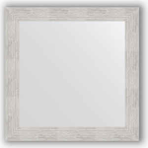 Зеркало в багетной раме Evoform Definite 66x66 см, серебреный дождь 70 мм (BY 3144) зеркало в багетной раме evoform definite 66x66 см сталь 20 мм by 1019