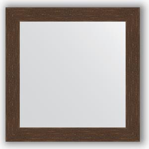 Зеркало в багетной раме Evoform Definite 66x66 см, мозаика античная медь 70 мм (BY 3145) зеркало в багетной раме evoform definite 66x66 см сталь 20 мм by 1019