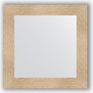 Зеркало в багетной раме Evoform Definite 70x70 см, золотые дюны 90 мм (BY 3149)