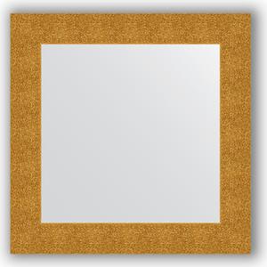 Зеркало в багетной раме Evoform Definite 70x70 см, чеканка золотая 90 мм (BY 3150) зеркало в багетной раме поворотное evoform definite 70x90 см чеканка золотая 90 мм by 3182