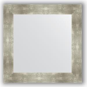 Зеркало в багетной раме Evoform Definite 70x70 см, алюминий 90 мм (BY 3154) цена