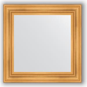 Зеркало в багетной раме Evoform Definite 72x72 см, травленое золото 99 мм (BY 3155) evoform definite 82x162 см травленое золото 99 мм by 3347
