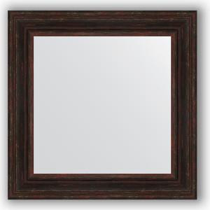 Зеркало в багетной раме Evoform Definite 72x72 см, темный прованс 99 мм (BY 3158) зеркало в багетной раме evoform definite 72x72 см травленая бронза 99 мм by 3157