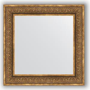 Зеркало в багетной раме Evoform Definite 73x73 см, вензель бронзовый 101 мм (BY 3159) зеркало в багетной раме поворотное evoform definite 63x83 см вензель бронзовый 101 мм by 3063