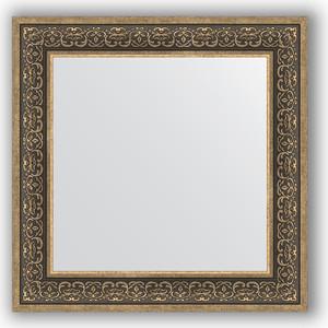 Зеркало в багетной раме Evoform Definite 73x73 см, вензель серебряный 101 мм (BY 3160) зеркало в багетной раме поворотное evoform definite 63x83 см вензель серебряный 101 мм by 3064