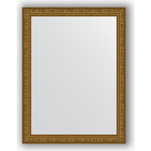 Зеркало в багетной раме поворотное Evoform Definite 64x84 см, виньетка состаренное золото 56 мм (BY 3167)