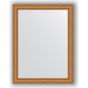 Зеркало в багетной раме поворотное Evoform Definite 65x85 см, золотые бусы на бронзе 60 мм (BY 3170) зеркало evoform by 3170