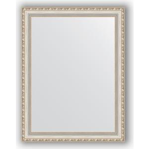 Зеркало в багетной раме поворотное Evoform Definite 65x85 см, версаль серебро 64 мм (BY 3174) evoform definite 55x145 см версаль серебро 64 мм by 3110