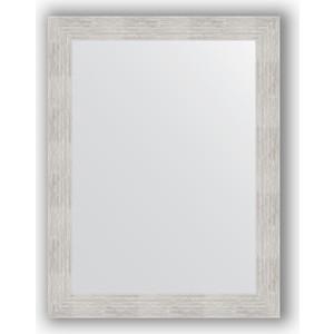 Зеркало в багетной раме поворотное Evoform Definite 66x86 см, серебреный дождь 70 мм (BY 3176) зеркало в багетной раме поворотное evoform definite 56x76 см серебряный дождь 70 мм by 3048