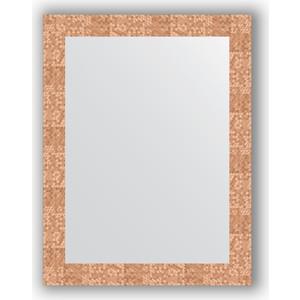 Фотография товара зеркало в багетной раме Evoform Definite 66x86 см, соты медь 70 мм (BY 3178) (571921)