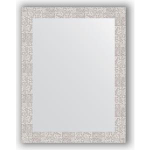 Зеркало в багетной раме поворотное Evoform Definite 66x86 см, соты алюминий 70 мм (BY 3179) зеркало в багетной раме поворотное evoform definite 56x76 см соты алюминий 70 мм by 3051