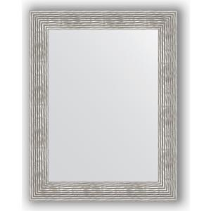 Зеркало в багетной раме поворотное Evoform Definite 70x90 см, волна хром 90 мм (BY 3185) arcobronze arcobronze 3185