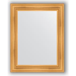 Зеркало в багетной раме поворотное Evoform Definite 72x92 см, травленое золото 99 мм (BY 3187) evoform зеркало в багетной раме evoform 72x92 см 6322067 oy czrbo 6322067