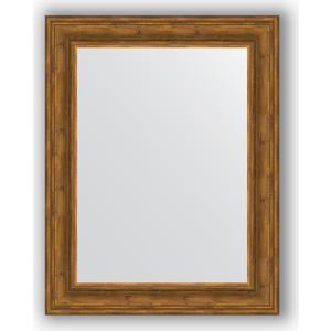 Зеркало в багетной раме поворотное Evoform Definite 72x92 см, травленая бронза 99 мм (BY 3189) зеркало в багетной раме поворотное evoform definite 72x92 см сусальное золото 47 мм by 1038