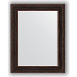 Зеркало в багетной раме поворотное Evoform Definite 72x92 см, темный прованс 99 мм (BY 3190) evoform зеркало в багетной раме evoform 72x92 см 6322067 oy czrbo 6322067