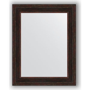 Зеркало в багетной раме поворотное Evoform Definite 72x92 см, темный прованс 99 мм (BY 3190) зеркало в багетной раме поворотное evoform definite 72x92 см сусальное золото 47 мм by 1038