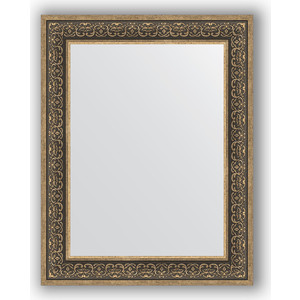 Зеркало в багетной раме поворотное Evoform Definite 73x93 см, вензель серебряный 101 мм (BY 3192) зеркало в багетной раме поворотное evoform definite 63x83 см вензель серебряный 101 мм by 3064