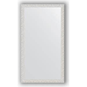 Зеркало в багетной раме поворотное Evoform Definite 61x111 см, чеканка белая 46 мм (BY 3194) зеркало в багетной раме поворотное evoform definite 61x111 см мозаика хром 46 мм by 3196