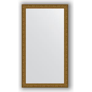 Зеркало в багетной раме поворотное Evoform Definite 64x114 см, виньетка состаренное золото 56 мм (BY 3199)