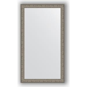 Зеркало в багетной раме поворотное Evoform Definite 64x114 см, виньетка состаренное серебро 56 мм (BY 3200)