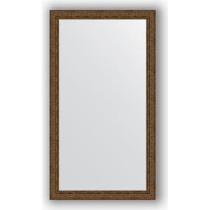 Зеркало в багетной раме поворотное Evoform Definite 64x114 см, виньетка состаренная бронза 56 мм (BY 3201)