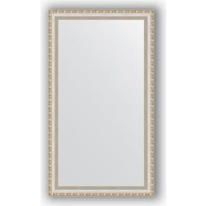 Зеркало в багетной раме поворотное Evoform Definite 65x115 см, версаль серебро 64 мм (BY 3206) evoform definite 55x145 см версаль серебро 64 мм by 3110