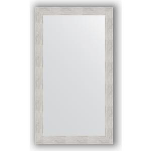 Зеркало в багетной раме поворотное Evoform Definite 66x116 см, серебреный дождь 70 мм (BY 3208) зеркало в багетной раме поворотное evoform definite 76x136 см серебреный дождь 70 мм by 3304
