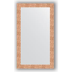 Зеркало в багетной раме поворотное Evoform Definite 66x116 см, соты медь 70 мм (BY 3210)